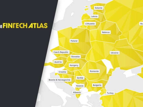 CEE Fintech Atals showing the map of Central and Eastern Europe